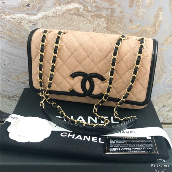 c125d609bd5e CHANEL Handbags - Chanel Caviar Quilted Medium Filigree Flap Bag